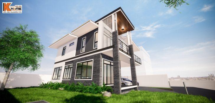 3D บ้านคุณธราธิป